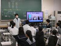 R2理数科説明会体験授業 生物
