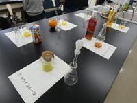 R2理数科説明会 体験授業 化学